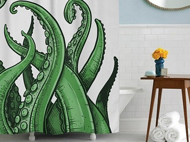 Tentacles Shower Curtain for $31