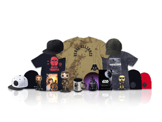 Rogue One: A Star Wars Story NEFF Collector's Box + Shirt for $89