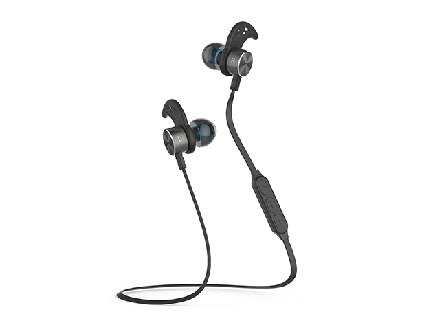 Magnetic Bluetooth 4.1 Wireless Sport Headphones for $24