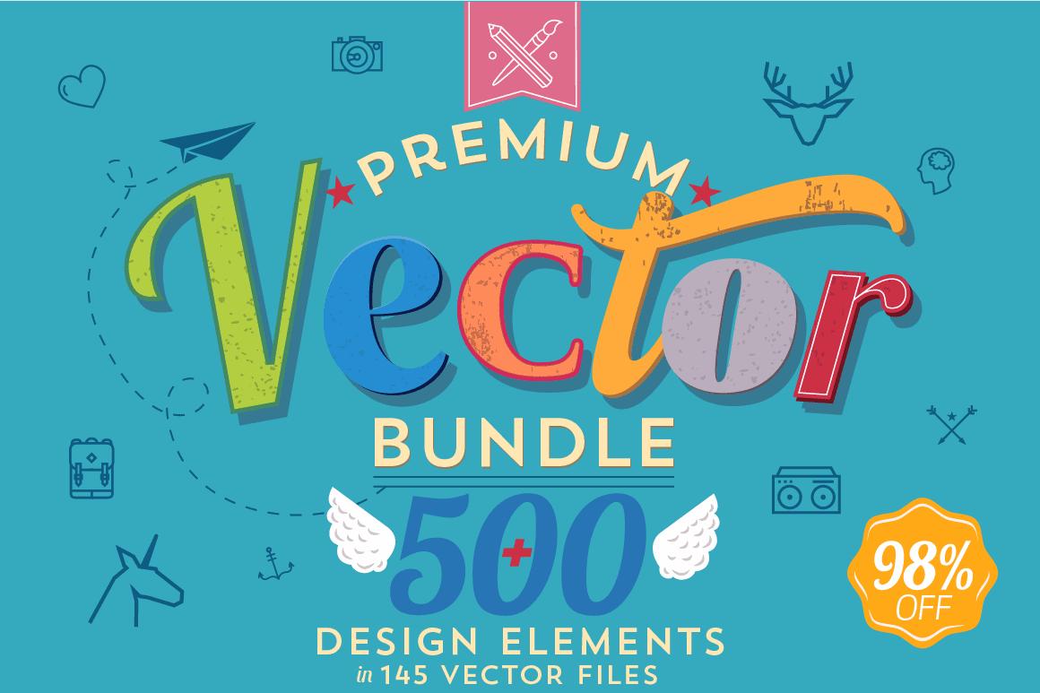 500+ Premium Quality Vectors from Noka Studio – only $17!