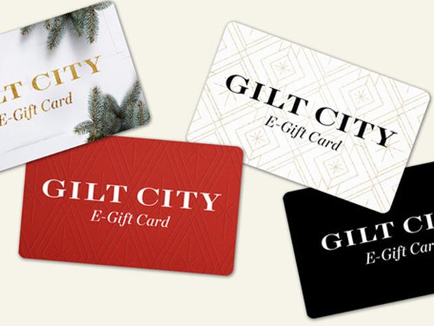 Gilt City: $40 E-Gift Card for $25