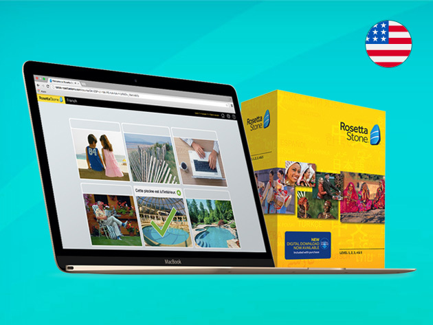 Rosetta Stone® Language Learning (Levels 1-5 Instant Download) for $129