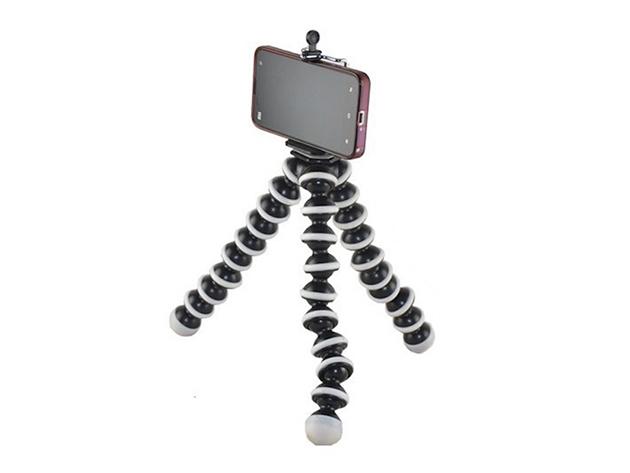 Flexible Tripod for Smartphones & Cameras for $8