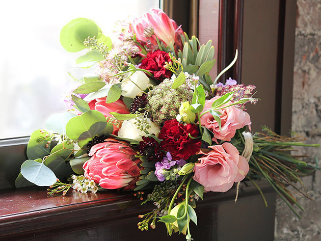 The Bouqs Company Fresh Flower Delivery for $35