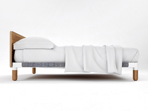 The Nomad Bed: 10″ Multi-Layer Gel Memory Foam Mattress for $755