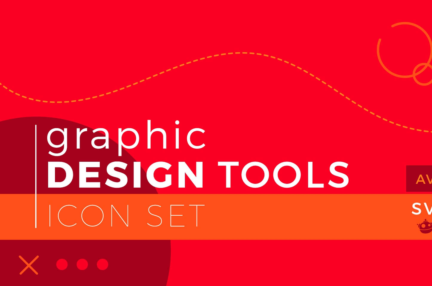 Free Download: 100 Graphic Design Tools Icons