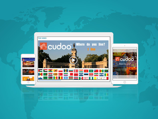Cudoo Foreign Language & Professional Development Library: 2-Yr Membership for $29