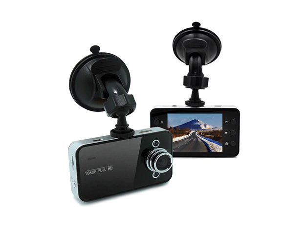 DashCam Hi-Res Car Video Camera & 8GB MicroSD Card for $24