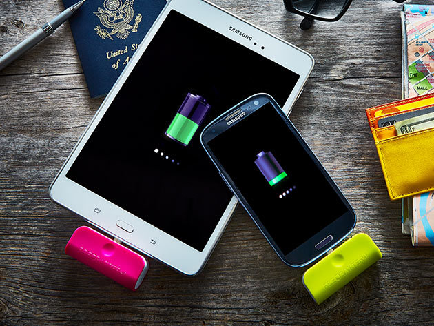 Resqbattery Micro-USB Disposable Phone Battery: 3-Pack for $16