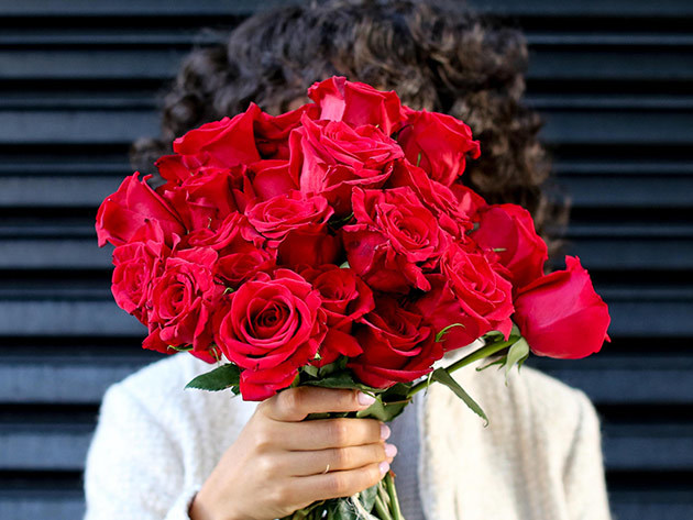 The Bouqs Company Valentine's Flowers for $35