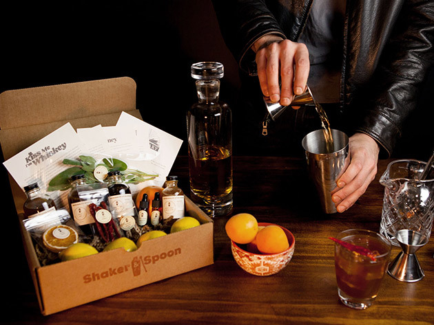 Shaker & Spoon Cocktail Club: 2-Month Subscription for $69