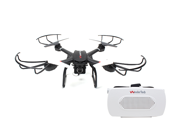W400R Voyager Drone w/ HD Camera & FPV VR Headset for $249