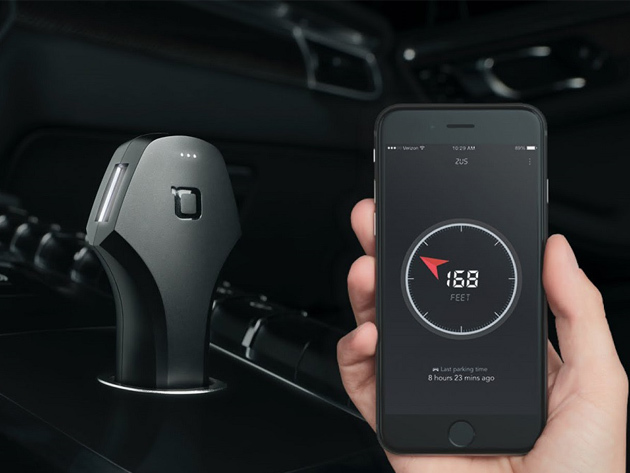Zus Smart Car Charger & Locator for $29