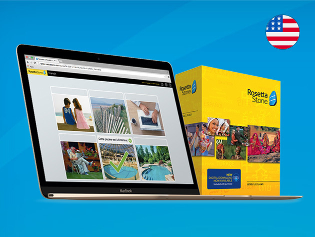 Rosetta Stone® Language Learning (Levels 1-5 Instant Download) for $159