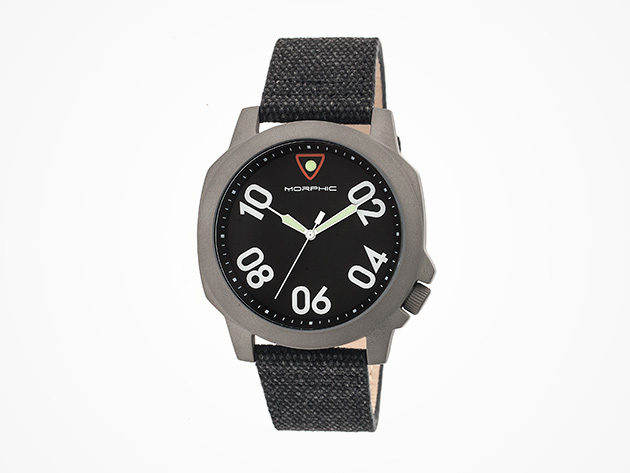 Morphic M41 Watch (Gunmetal Black/Gunmetal) for $59