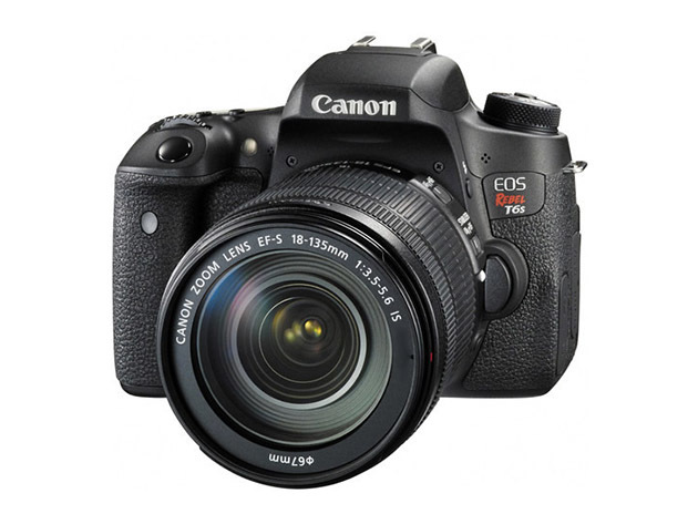 Canon EOS Rebel T6s DSLR Camera + 18-135mm Lens for $869