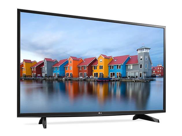 LG 43″ 1080p LED Smart HDTV for $347