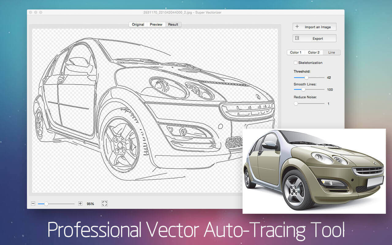 Auto-Trace Almost Any Image with Super Vectorizer 2 for Mac – only $9!