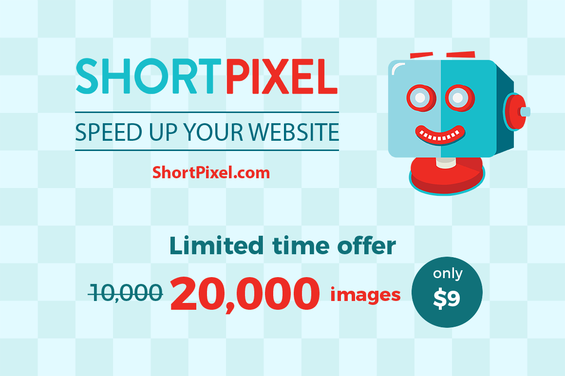 Instantly Optimize Your Site's Images with the ShortPixel WP Plugin – only $9!