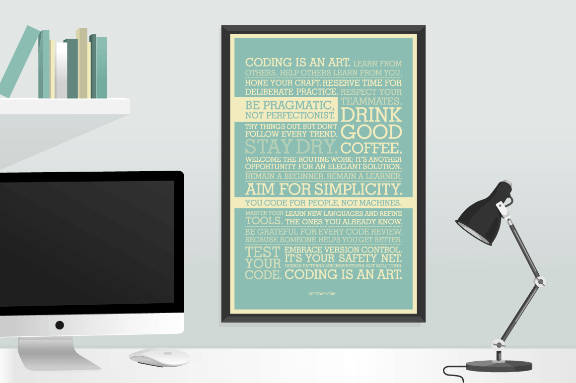 The Must-Have Developer Manifesto Poster – 30% off!