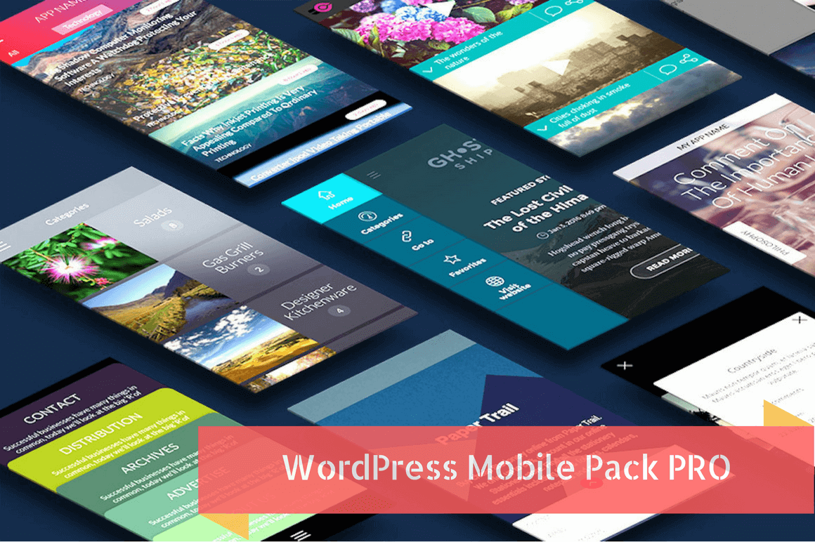 WP Mobile Pack PRO: Convert Your WordPress Website to a Mobile App - only $37!