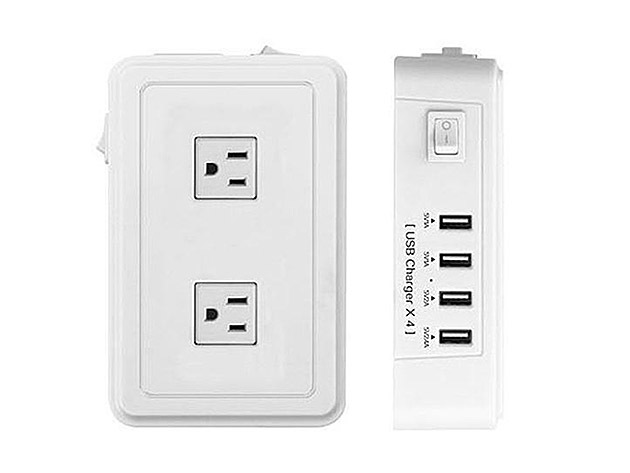 Mix Master Charging Hub For AC and USB Outlets for $39