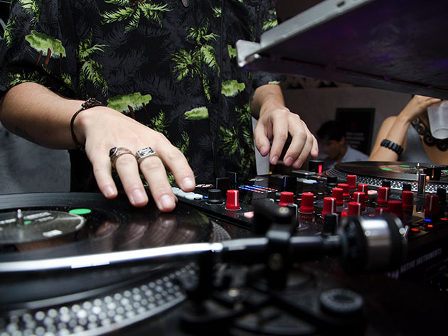 Learn to Be A DJ Course for $29