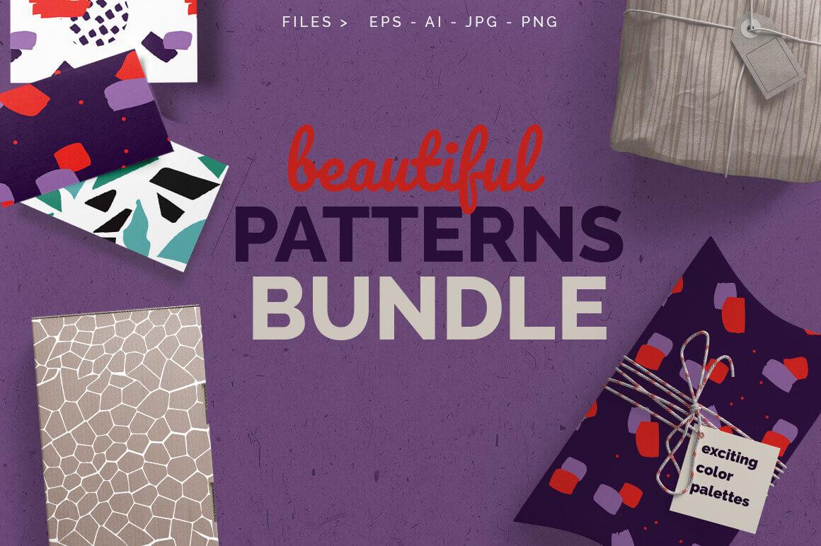 Bundle: 56 Beautiful Seamless Patterns – only $9!