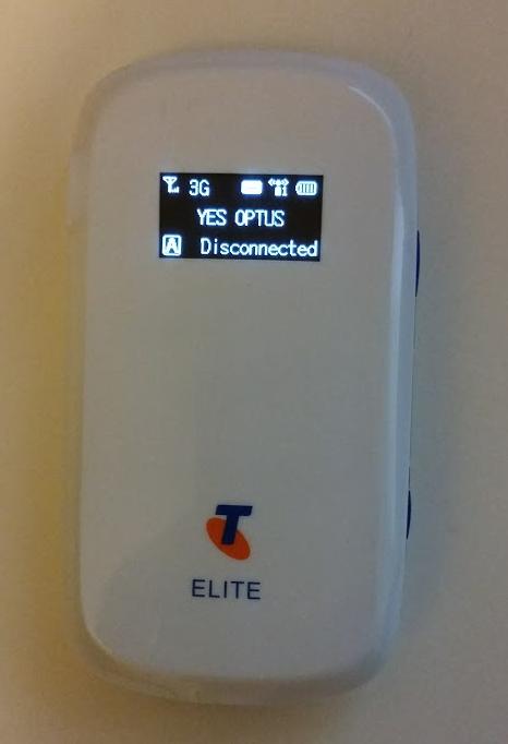 ZTE MF60 Optus SIM Disconnected