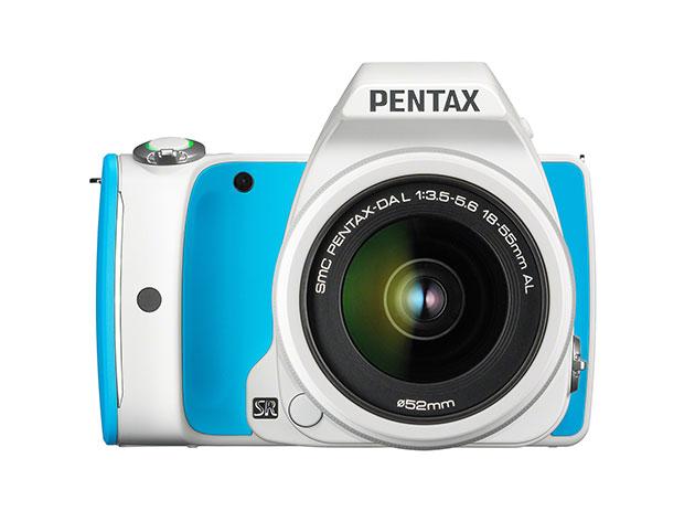 Pentax K-S1 DSLR Camera + 18-55mm Lens Kit & 16GB WiFi SD Card for $299