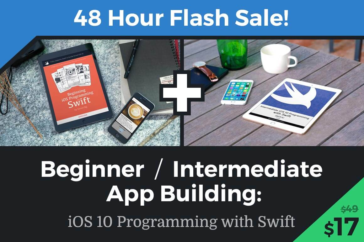 48 Hours Only: Learn SWIFT iOS App Programming (Beginner/Intermediate) – only $17!