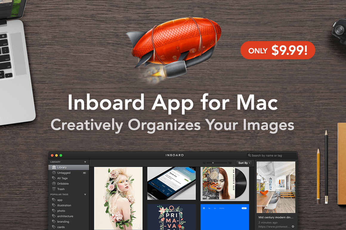 Inboard App for Mac: Creatively Organize Your Images - only $9.99!