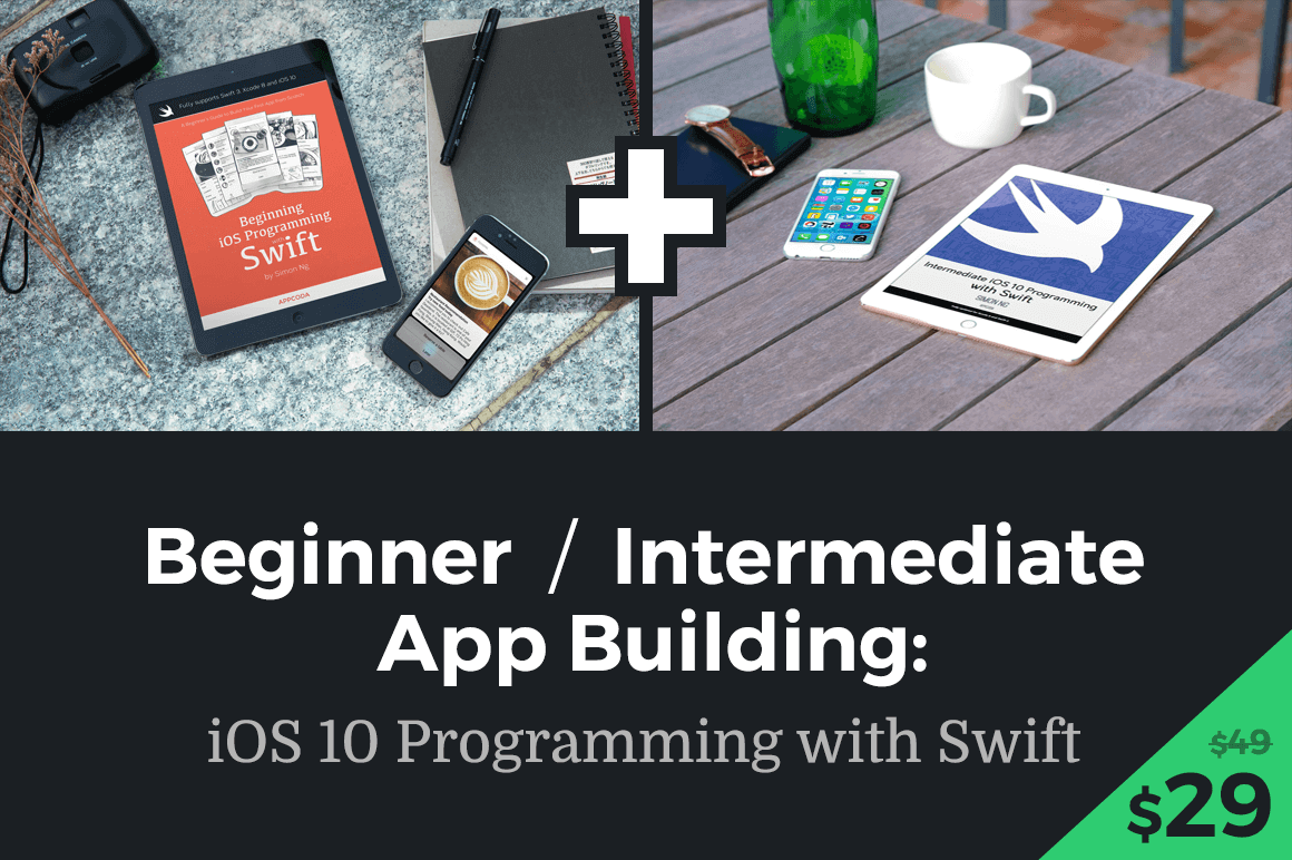 Learn SWIFT iOS App Programming (Beginner/Intermediate) - only $27!