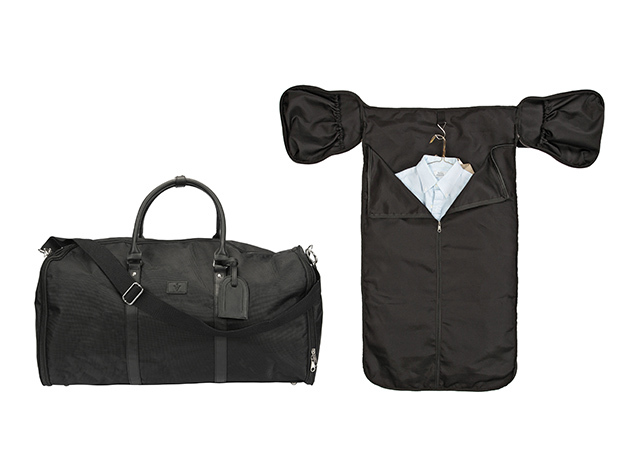 1Voice Weekender Garment Bag With Built-In Battery for $79