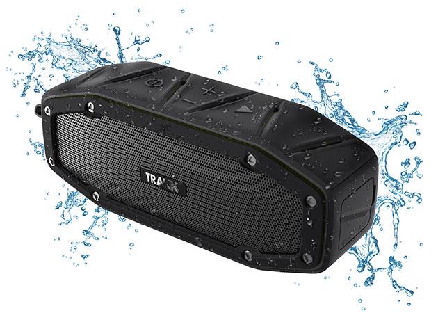 Trakk Bullet Ultra Compact Waterproof Bluetooth Speaker for $39