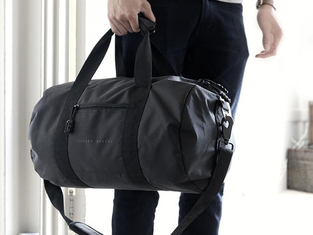 Bomber Barrel Duffel Bag Complete Set for $69