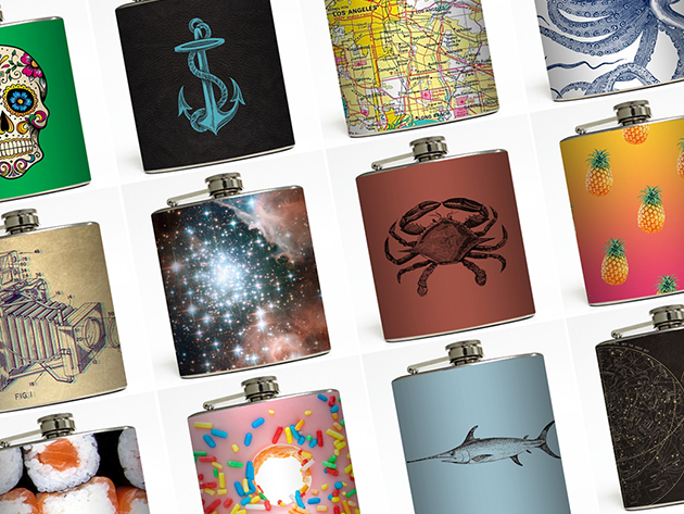 Liquid Courage Flask for $16