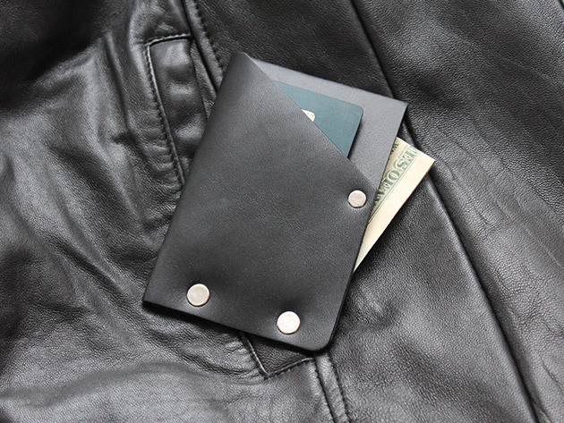 Hammer Riveted Wad Wallet for $29