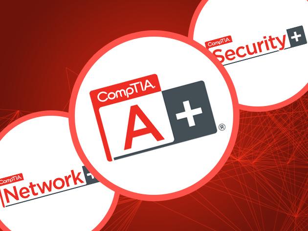 CompTIA IT Certification Bundle for $49