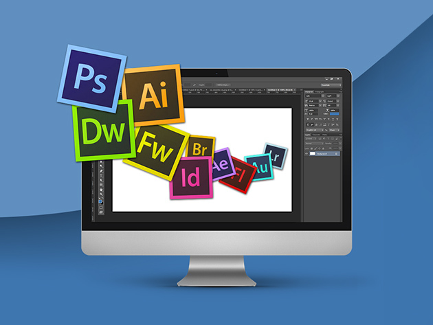The Complete Adobe Suite Mastery Package for $69