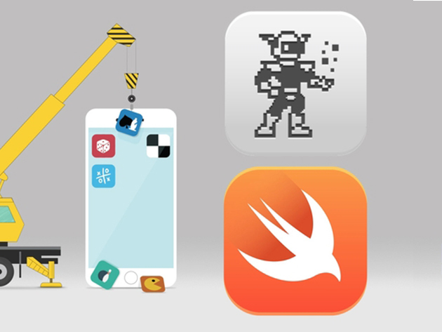 The Complete iOS Game Course Using Sprite Kit And Swift 3 for $15
