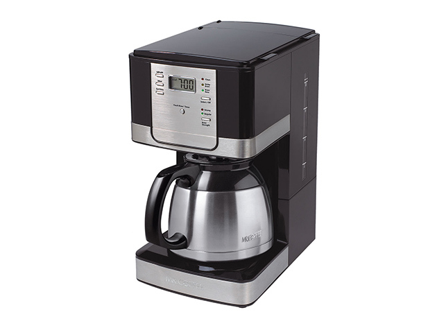 Mr. Coffee® Advanced Brew 8-Cup Programmable Coffee Maker with Thermal Carafe for $29