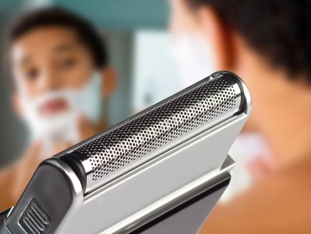 ShaveTech USB Travel Razor for $18