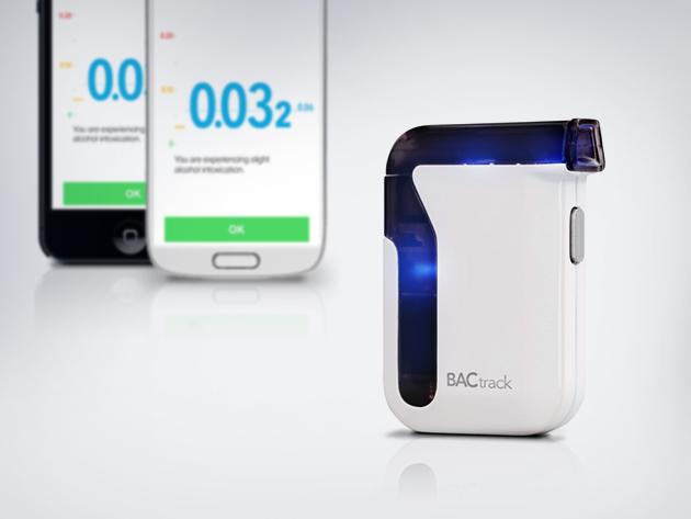 BACtrack Mobile Smartphone Breathalyzer for $79