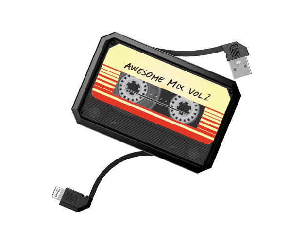 LithiumCard Pro Retro Series Lightning Battery Chargers for $39
