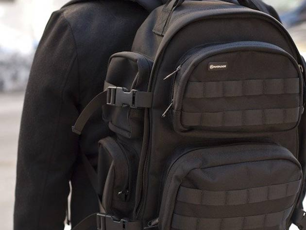 The Ballistic Backpack for $125