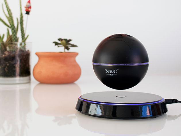 Levitating Bluetooth Orb Speaker for $64