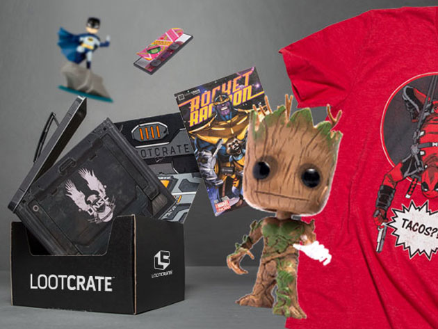 Loot Crate Exclusive Mystery Bundle: 6-7 Items for $22