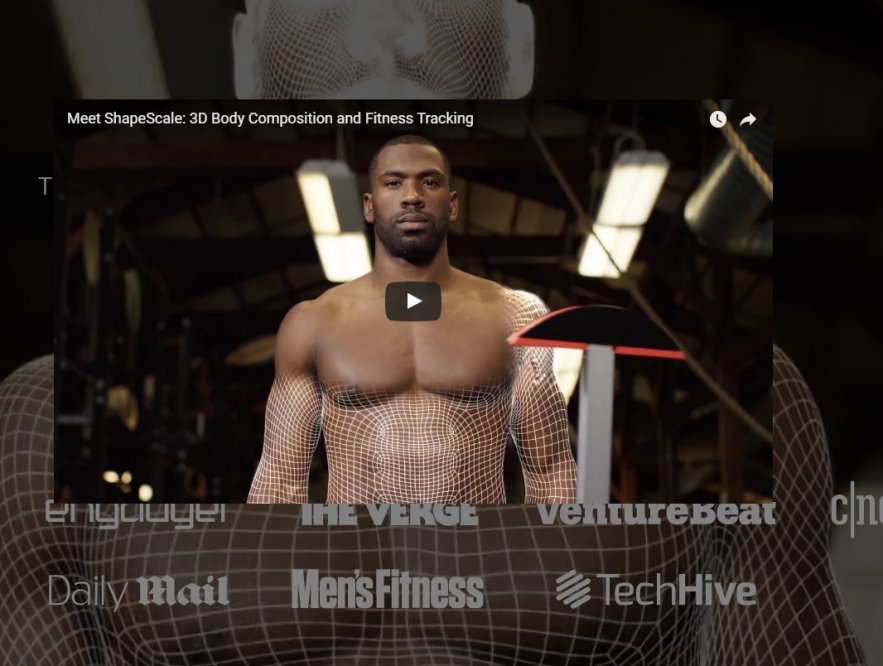ShapeScale_ The 3D Scanning Body Scale & Fitness Tracker