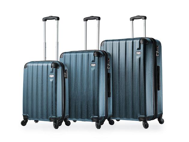 Abruzzo 3-Piece Luggage Sets for $179